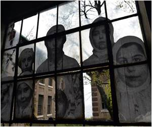 French Artist JR Revisits Ghosts of Ellis Island Hospital