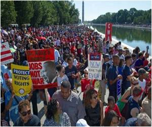 Five Decades Since March on Washington Marked by Americans