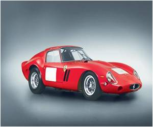 Ferrari Fetches Record $38 Million in California Auction