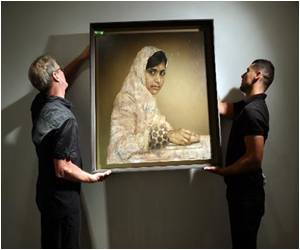 Christie's Auction Malala Portrait for $102,500