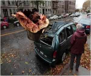 Superstorm Sandy Cancels New York Halloween Parade