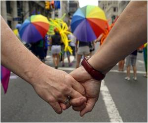 Supreme Court Ruling Hailed in New York Gay Pride Parade
