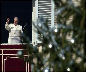 'International' Christmas Tree Up at the Vatican
