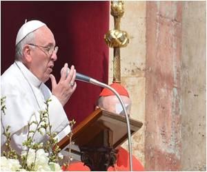 Italian Potato Field Witnesses Unveiling Of Pope Statue