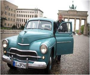 German's Road Trip in John Paul 'Relic', En Route for Late Pope's Sainthood
