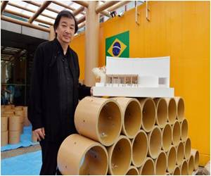 World Cup Pavilion Being Built by Pritzker Winner at Embassy in Japan