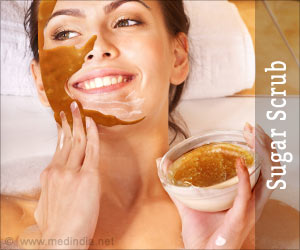Four Steps To Make Sugar Scrub at Home