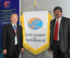 First Indian Dentist to Lead Asian Prosthodontic Academy