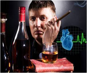 Smoking, Alcohol, Physical Activity, and Family History and Probability of Acute Myocardial Infarction and Unstable Angina Pectoris