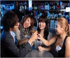 Study Finds Alcohol Increases Activity of the Resting Brain in Social Drinkers