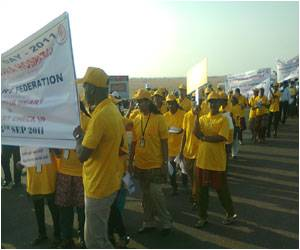 World Heart Day 2011 – Glenmark's Doctor-Patient Rally, Awareness Seminar in Chennai