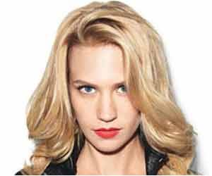 January Jones Jumps Down to Size Six by Juice and Raw Vegetable Diet