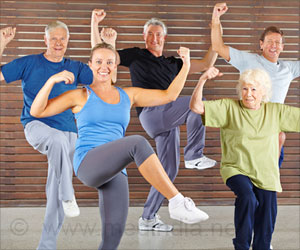 Old People Who Continue To Exercise Live More Independently