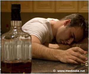 People Who Have HIV Infection Have a Lower Tolerance for Alcohol Than Uninfected Men