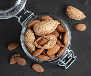 Go Nuts!!! Eat Almonds for a Healthy Heart