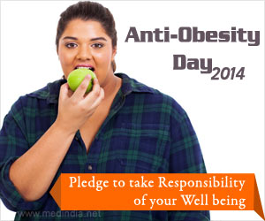 Anti-Obesity Day 2014: Pledge to Take Responsibility of Your Well Being