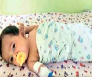 Indian Toddler Makes It to Guinness Book of Records With Thirty Four Fingers and Toes