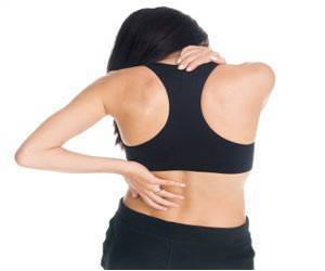 Middle-aged Women Suffering From Chronic Back Pain Due to Long Hours Online