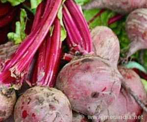 Chemical Present in Baked Beetroot Could Help Improve Athlete's Performance