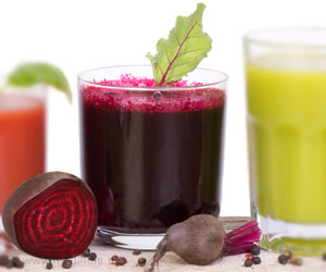 Beetroot Juice Helps Lower Blood Pressure