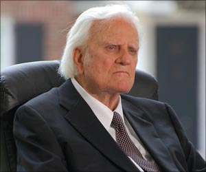 Billy Graham Not Keeping Good Health
