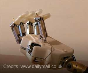 First Bionic Hand with a Sense of Touch Developed
