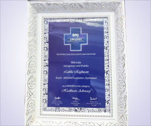 MOHAN Foundation, Indian NGO, Makes Strides in Organ Donation and Awarded Prestigious British Medical Journal South Asia Award 2015