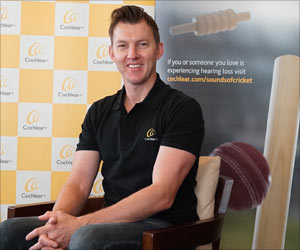 Former Cricketer Brett Lee Pitches for Mandatory Hearing Loss Screening for Newborns