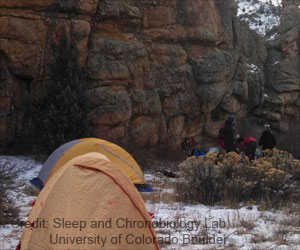Trouble Getting Sleep at Night? A Weekend Camping Can Really Help
