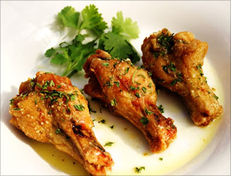 Eating Chicken Wings Makes Kids More Aggressive: Study