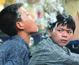Peer Influence Doubles Smoking Risk for Adolescents