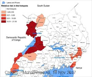 Uganda's Borders and Lakes Have High Risk of Cholera Outbreaks
