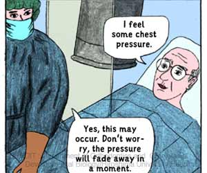 Comic-style Booklet Can Help Surgical Patients Feel Less Anxious Before Cardiac Catheterization