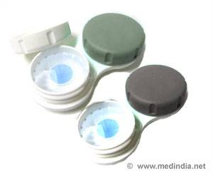 Electronic Contact Lens to Monitor Blood Sugar