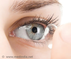 Contact Lens Triggers Complete Blindness in an Elderly from England