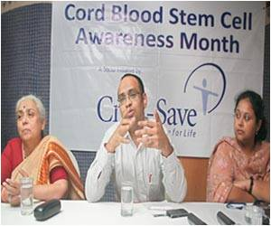 Cord Blood Stem Cell Awareness Month Launched in Chennai