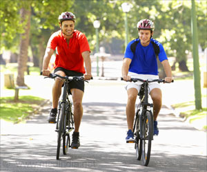 Cycling or Walking Linked to Substantial Health Benefits