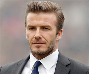 World Famous British Soccer Star David Beckham Tops Best Celebrity Father List