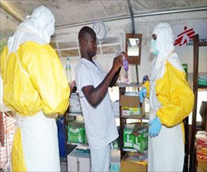 Ebola Infection in Third US Health Worker