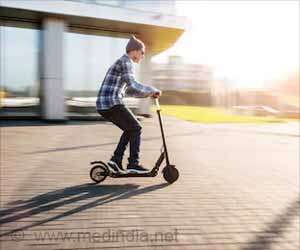 Standing Electric Scooter Use Maybe the Next Public Health Issue: Study