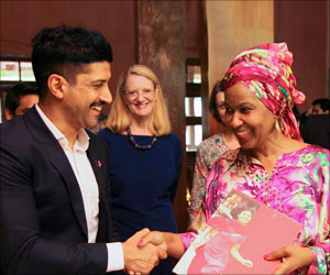Bollywood Icon Farhan Akhtar Appointed as First-ever Male UN Women Goodwill Ambassador