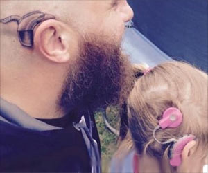 Alistair Campbell Gets a Cochlear Implant Tattoo As a Tribute to His Daughter