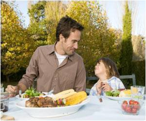 Family Meal Times Lowers the Risk of Obesity