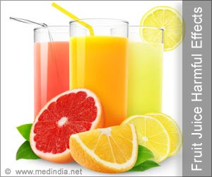 Heavy Consumption of Fruit Juices is Bad for the Health