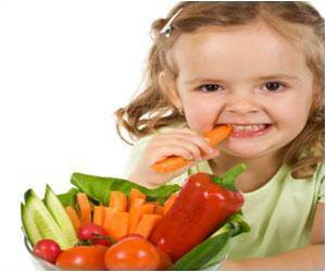 Kids Eat More Vegetables With Flavored, Spicy Dips