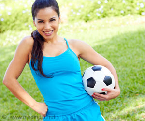 Women can Play Football to Reduce Blood Pressure