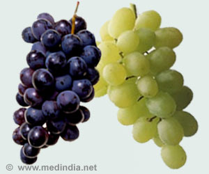 Grapes may Help Reduce Heart Failure Associated with High Blood Pressure