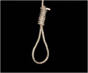 Suicide Rate by Hanging/suffocation Ups in Middle-aged Men, Women