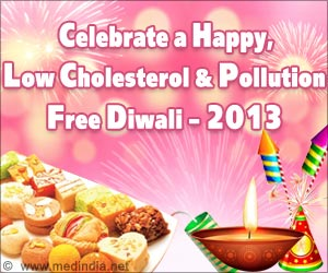 Celebrate a Happy, Low Cholesterol and Pollution Free Diwali 2013
