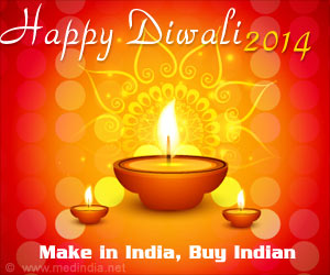 Diwali, The Festival of Lights - 'Make in India, Buy Indian'